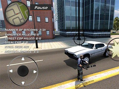Hra Grand Action Simulator   New York Car Gang