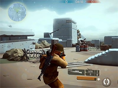 Android hra Mighty army: World war 2 ke stažení