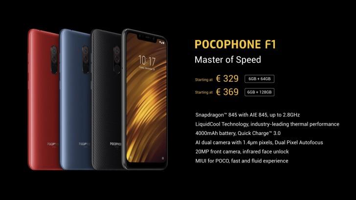 Xiaomi Pocophone ceny