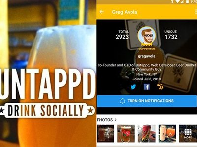 Aplikace Untappd   Discover Beer