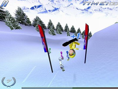 Hra Snowboard Racing Ultimate