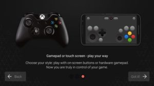 Android aplikace Vortex Cloud Gaming