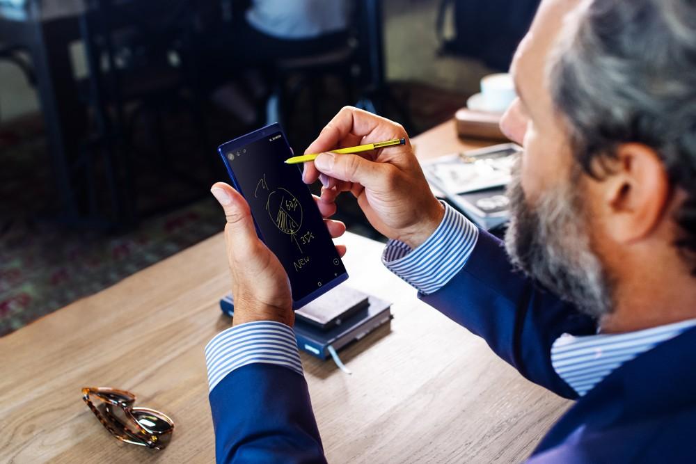 Nový Samsung Galaxy Note 9 je tady s obrovskou pamětí 512GB