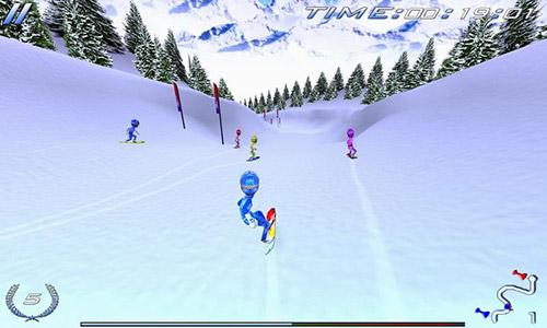 Hra Snowboard Racing Ultimate