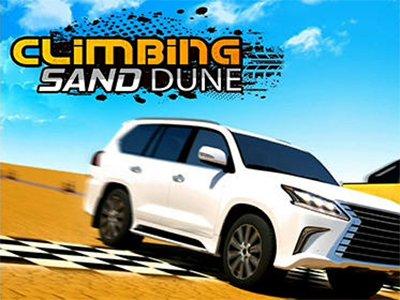 Climbing sand dune závodní hra android