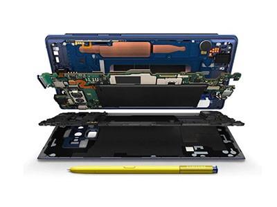 Samsung Galaxy Note 9 a chladící systém
