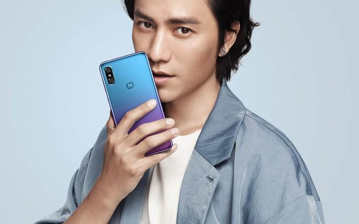 Motorola P30 - modrá varianta