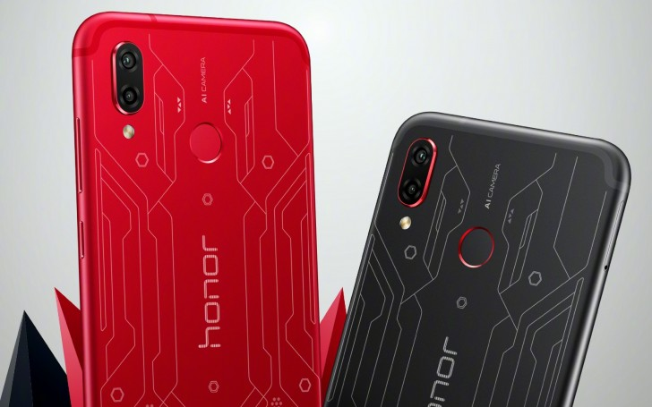 Honor Play Player Edition Red a Player Edition Black