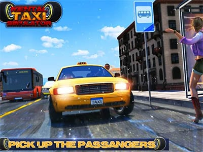 Android simulátor Mental Taxi Simulator