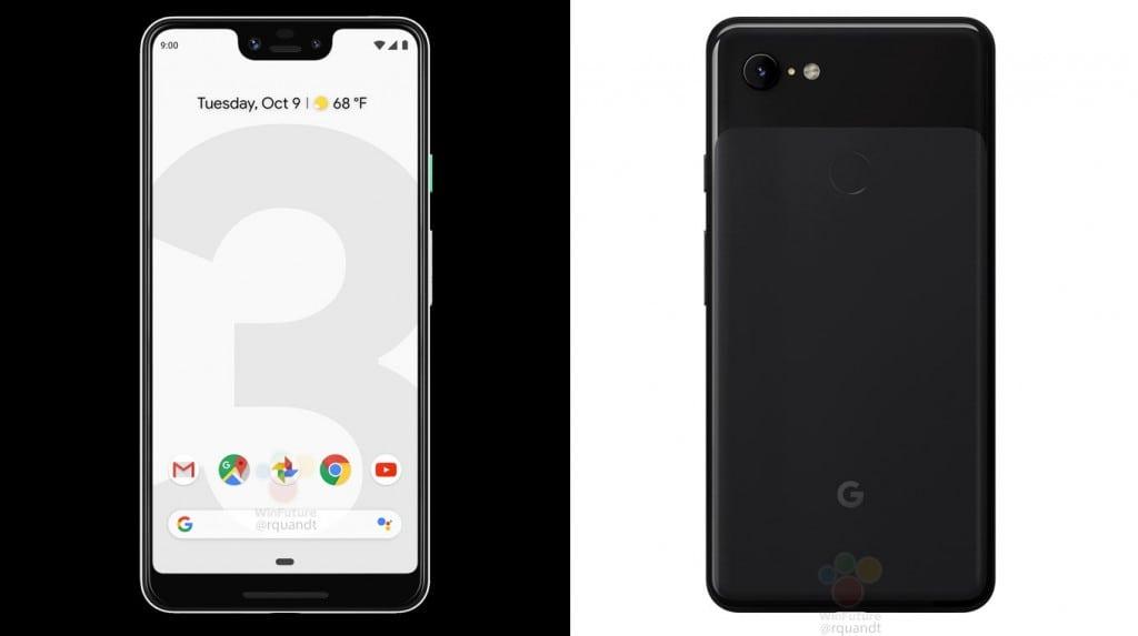 Google Pixel 3 XL - Černá barva