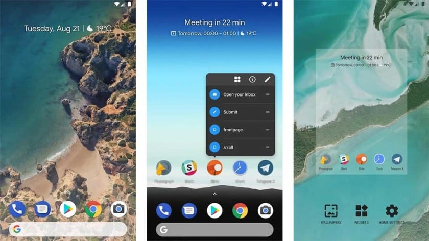 Rootless Launcher aplikace