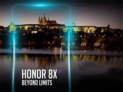 Honor 8X v Praze