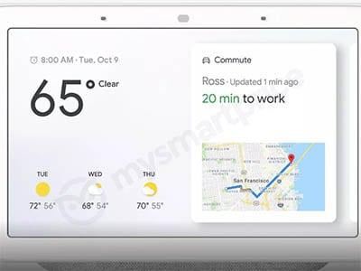 Google Home Hub s chytrým reproduktorem