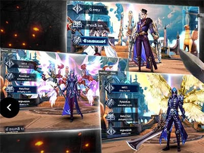 Android hra na mobil MMORPG Goddess: Primal Chaos