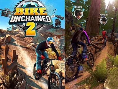 Android závodní hra Bike unchained 2