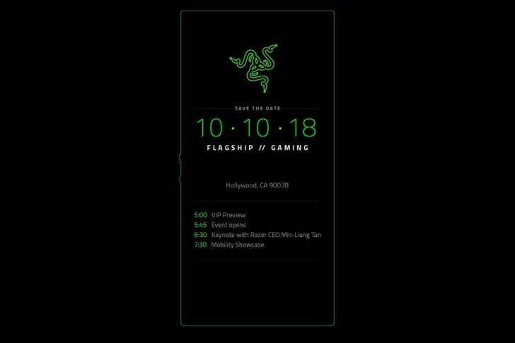 Razer Phone 2 pozvánka