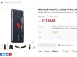 Herní telefon Asus ROG dorazí ke konci října