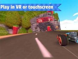 Hra All-star fruit racing VR