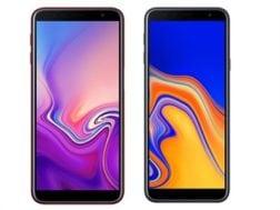 Samsung oficiálně představil telefony Galaxy J6+ a J4+