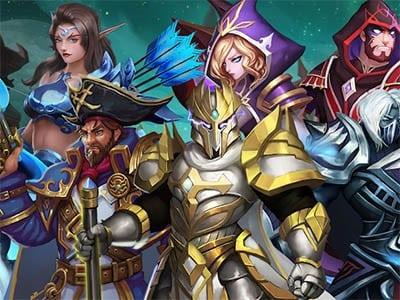 Hero Legion Online MMORPG hra ke stažení