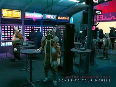 Android hra Blader Runner 2049