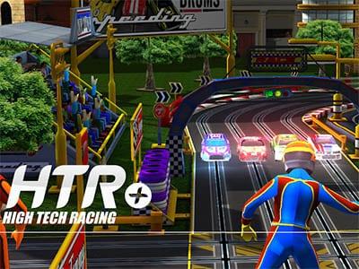 Závodní hra HTR+ Slot Car Simulation