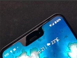 Další fotografie telefonu Google Pixel 3 XL
