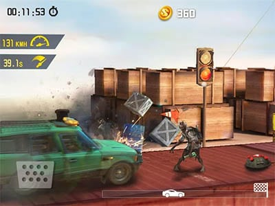 Android hra Zombie Road Escape