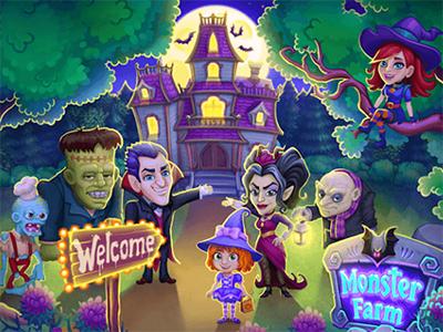Android hra Monster Farm ke stažení