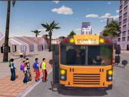 Hra School bus