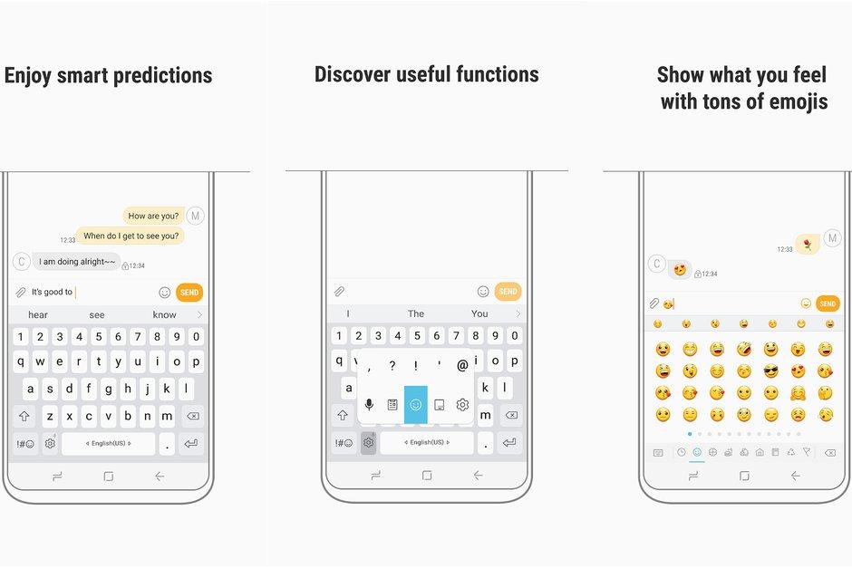 Samsung klávesnice