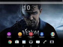 Venom Xperia Theme ke stažení v obchodě Google Play