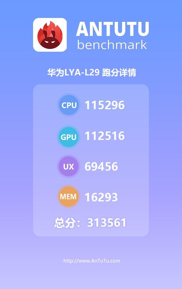 Huawei Mate 20 na AnTuTu