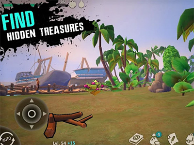 Android hra Survival Island: EVO 2