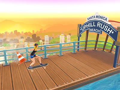 Android závodní hra Uphill Rush ke stažení zdarma
