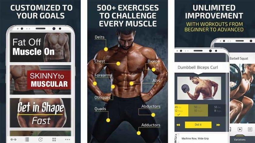 Aplikace Fitness 22