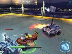 Hra Robot crash fight