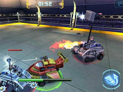 Android hra Robot Crash Fight