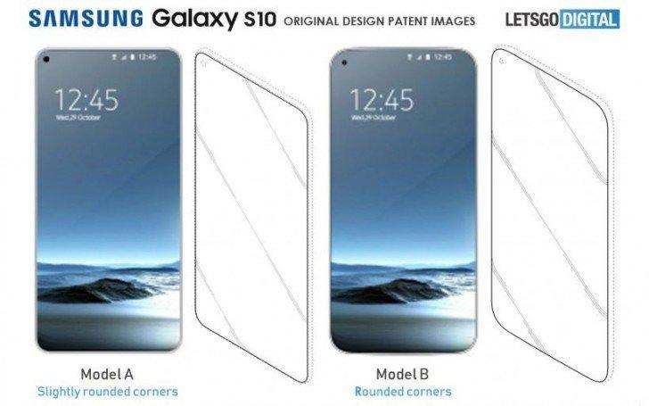 Uniklý design telefon Galaxy S10 a S10+