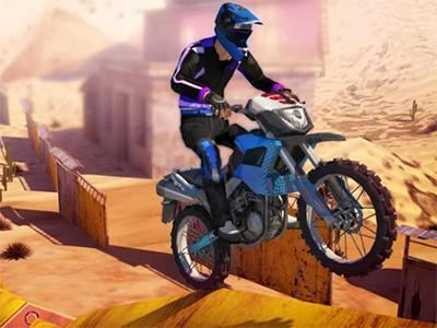 Android hra Real Bike Stunts