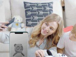 Aplikace 3D moderator od Huawei pro Mate 20 Pro a Porsche Design