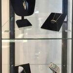 Jewelry case with artwork form Art Rocks II exhibition