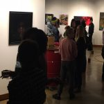 Gallery opening for Dark & Obscure exhibition