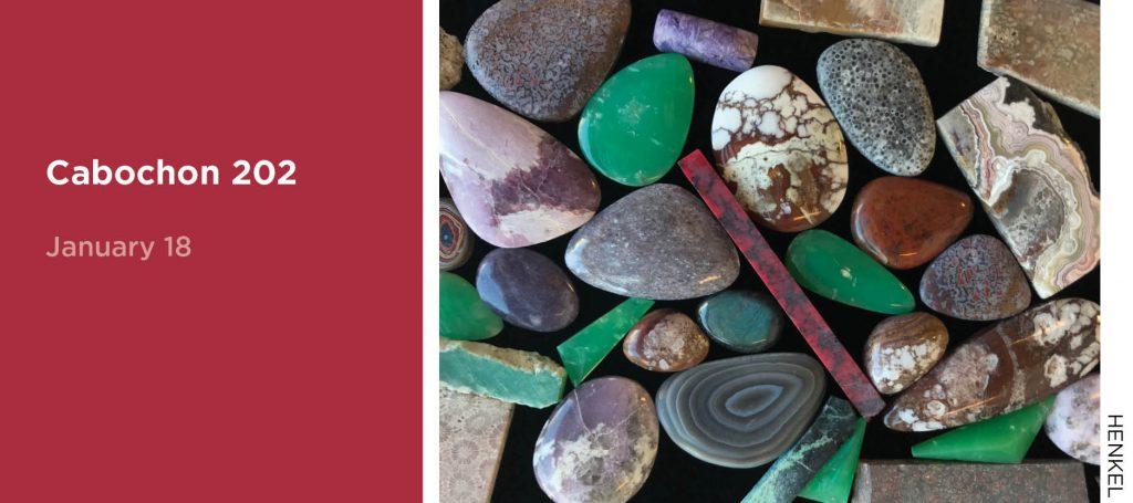 Cabochon 202, January 18, Image of cabochon stones