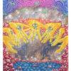"""Julia Curran, """"Nature's Grasp"""" - Silkscreen on Hand-cut Paper"""