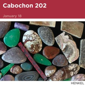 Cabochon 202, January 18, Image of cabochon stones