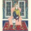 "Wendi Dibbern, ""Sown and Boughed"" - Multi-Block Linoleum Print"