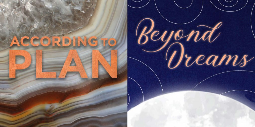 According to Plan and Beyond Dreams gallery graphics