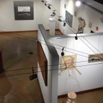 Art of Slow exhibition, aerial view