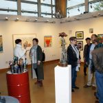 Gallery opening for Why Art Gym exhibition